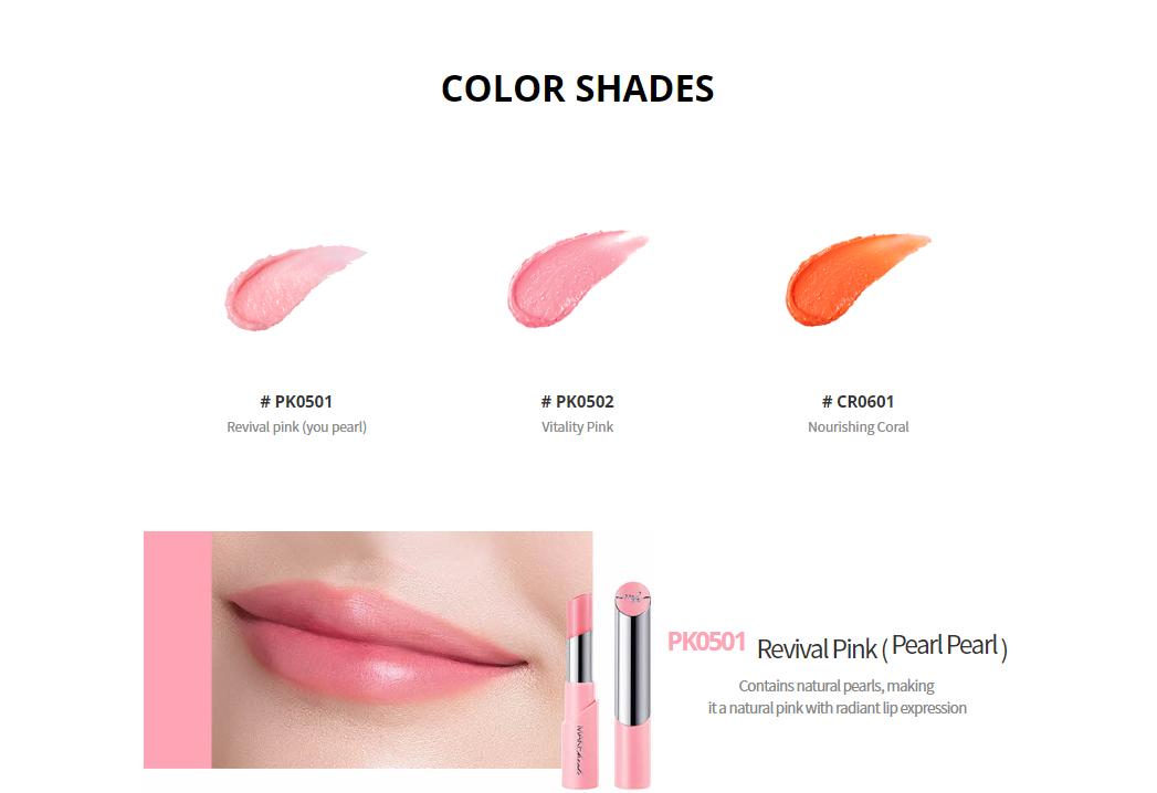 Son Dưỡng Màu Tự Nhiên Giảm Thâm Môi Make Heal Collagen Tint Lip Glow - 7