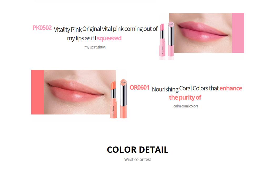 Son Dưỡng Màu Tự Nhiên Giảm Thâm Môi Make Heal Collagen Tint Lip Glow - 8