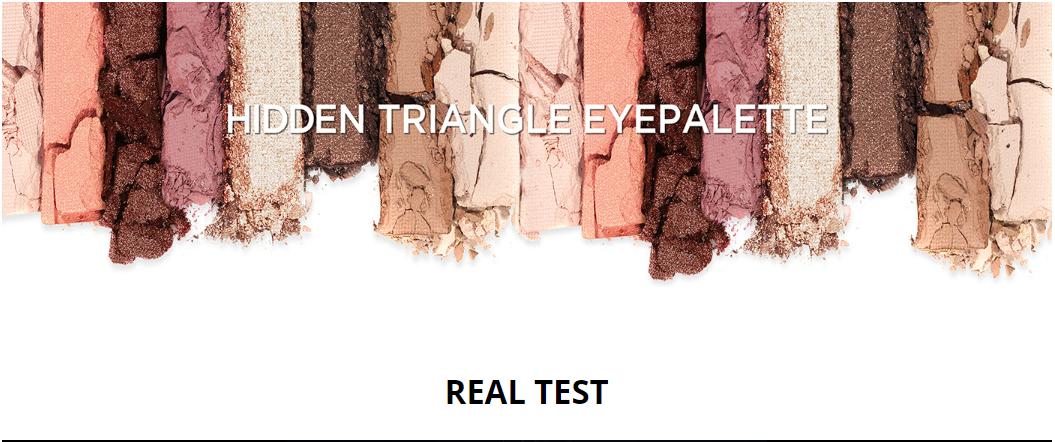 Bảng Màu Mắt 4 Ô Make Heal Hidden Triangle Palette - 21