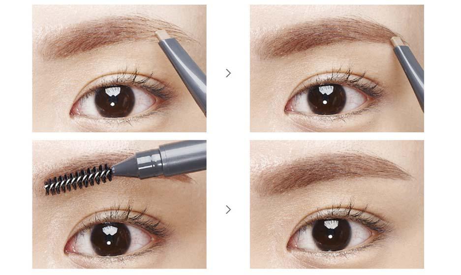 Chì Kẻ Mày Ngang The Face Shop Designing Eyebrow Pencil