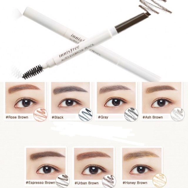 Chì Kẻ Mày INNISFREE Auto Eyebrow Pencil 1