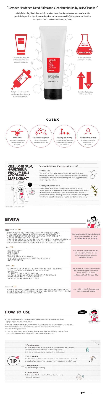 COSRX Salicylic Acid Daily Gentle Cleanser - 150ml