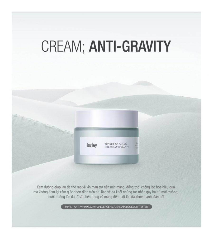Huxley Cream Anti Gravity