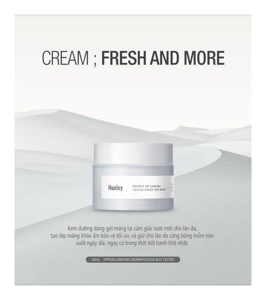 Huxley Cream More Than Moist