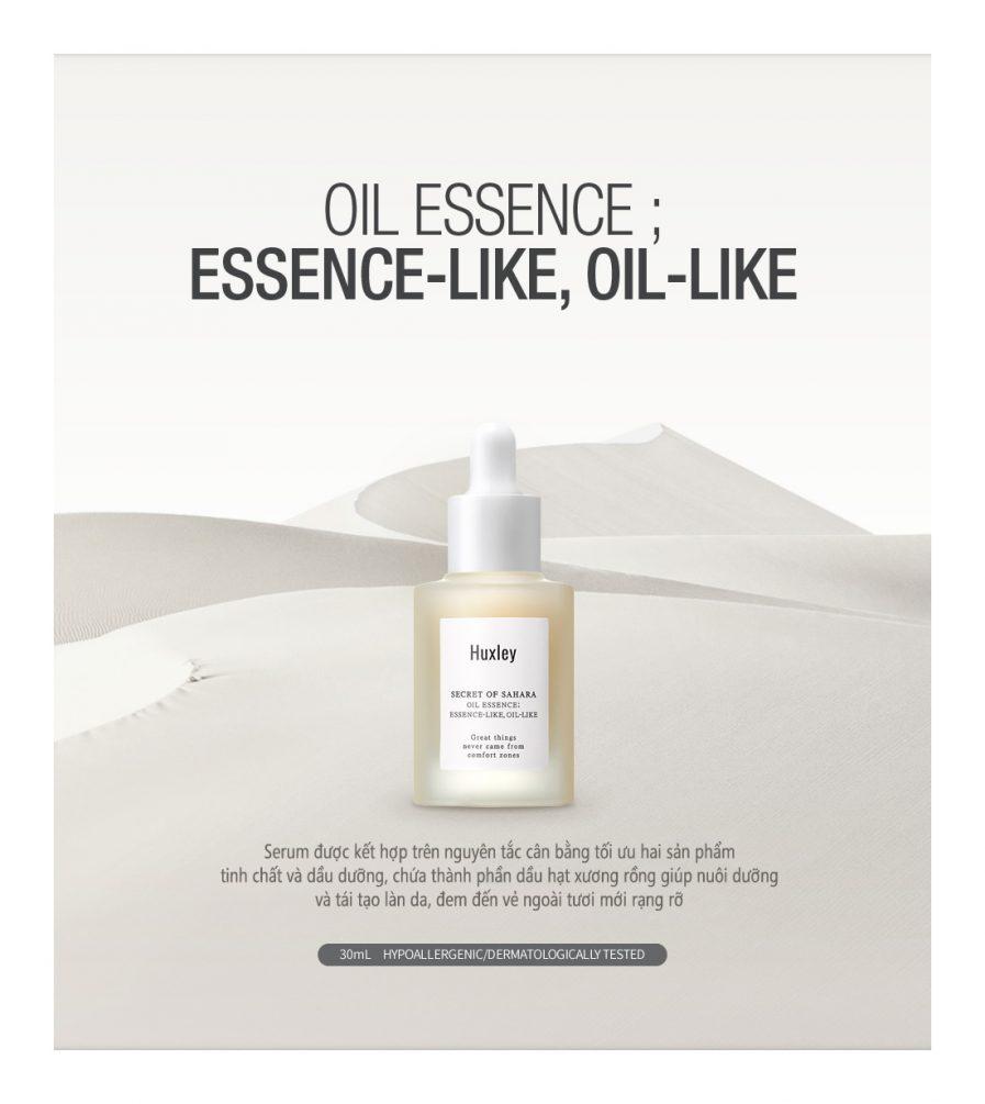 Serum Dưỡng Huxley Secret Of Sahara Essence Oil