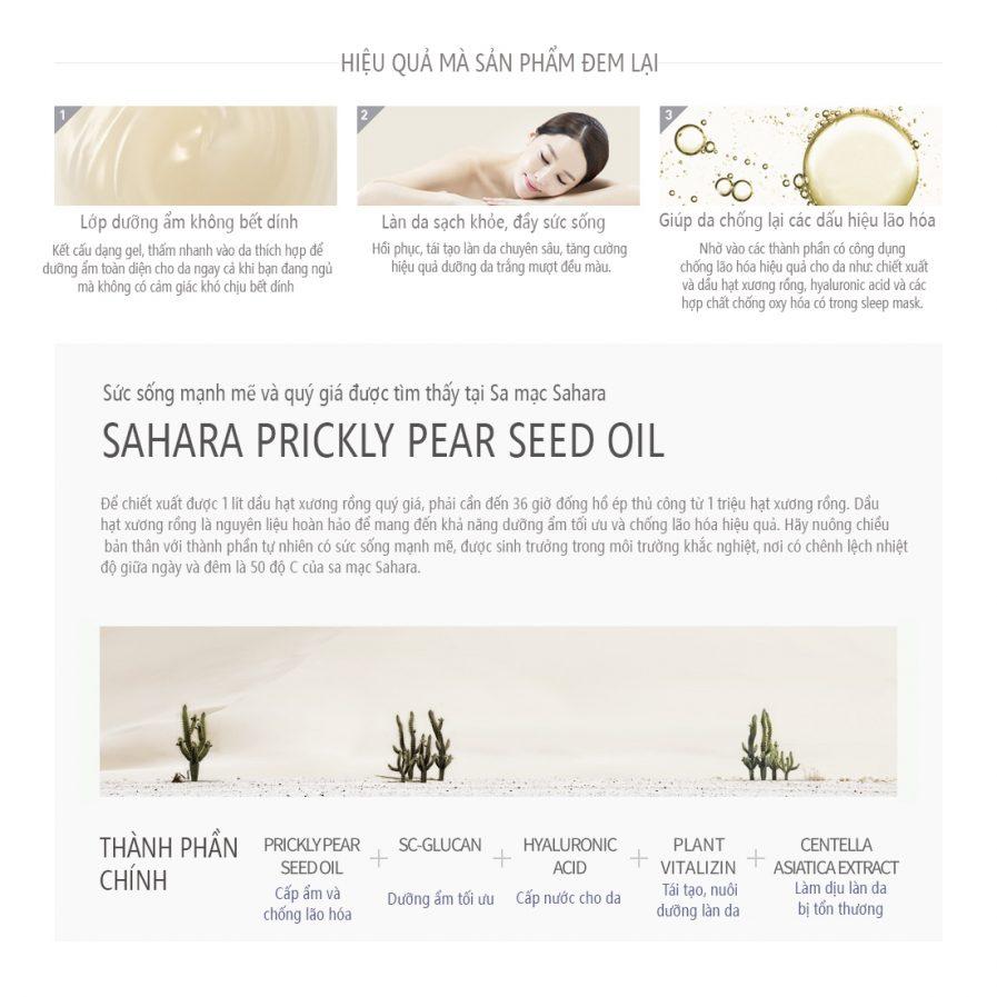 Huxley Secret Of Sahara Sleep Mask, Good Night