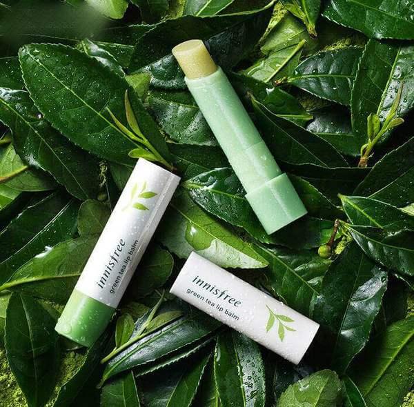 Son Dưỡng INNISFREE Green Tea Lip Balm