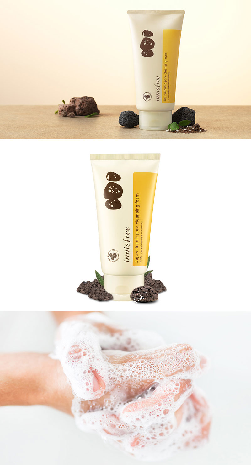 Sữa Rửa Mặt Innisfree Volcanic Pore Cleansing Foam