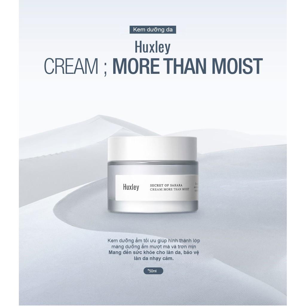 Kem Dưỡng Ẩm Huxley Cream More Than Moist