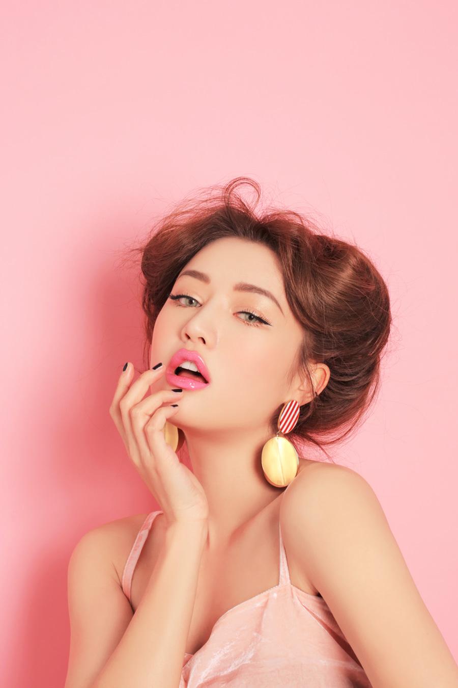 Kem Nền 3CE Pink Boutique Creamful Foundation