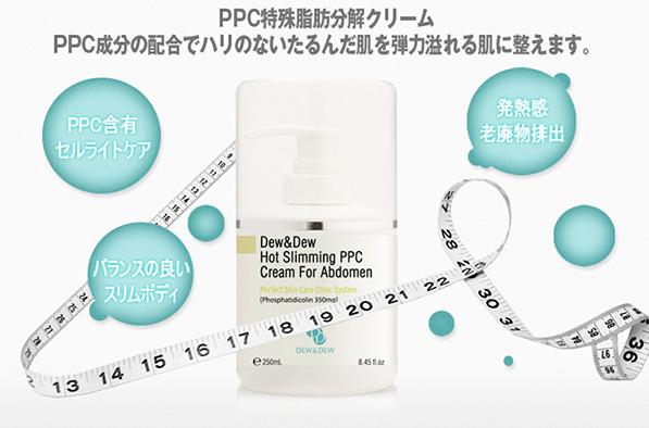 Kem Tan Mỡ Vùng Eo Dew&Dew Hot Slimming PPC Cream For Abomen-1