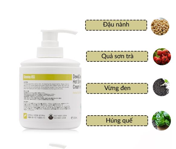 Kem Tan Mỡ Vùng Eo Dew&Dew Hot Slimming PPC Cream For Abomen-2