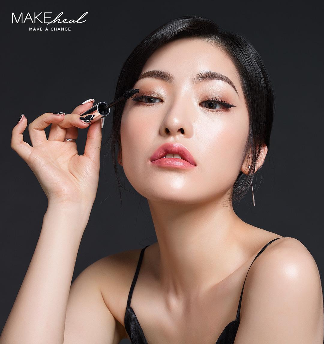 Mascara Dài Dày Mi Make Heal Lash Full Up Mascara Bk1201
