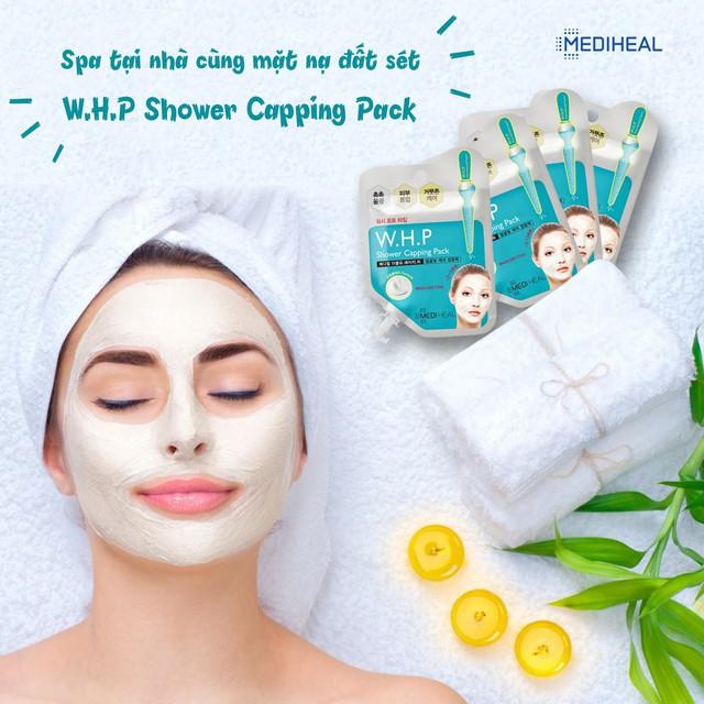 Mặt Nạ Đất Sét Mediheal W.H.P Shower Capping Pack