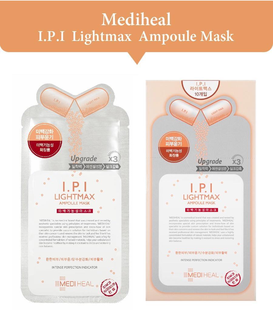 Mediheal I.P.I Lightmax Ampoule Mask1