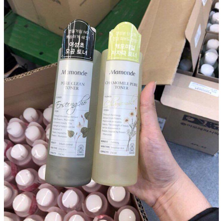 Nước Hoa Hồng Da Nhạy Cảm Mamonde Chamomile Pure Toner