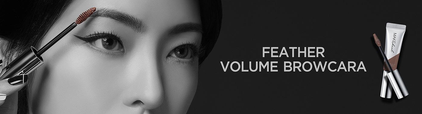 Nhuộm Màu Chân Mày Make Heal Feather Volume Browcara