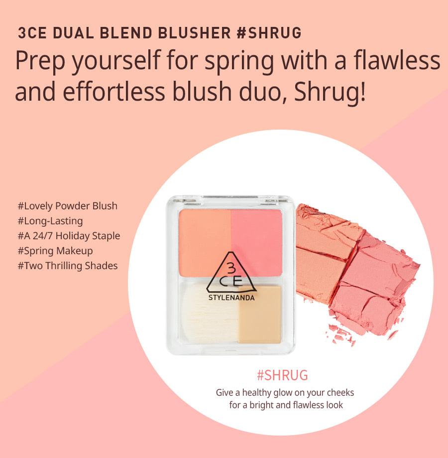Phấn Má 3CE Dual Blend Blusher