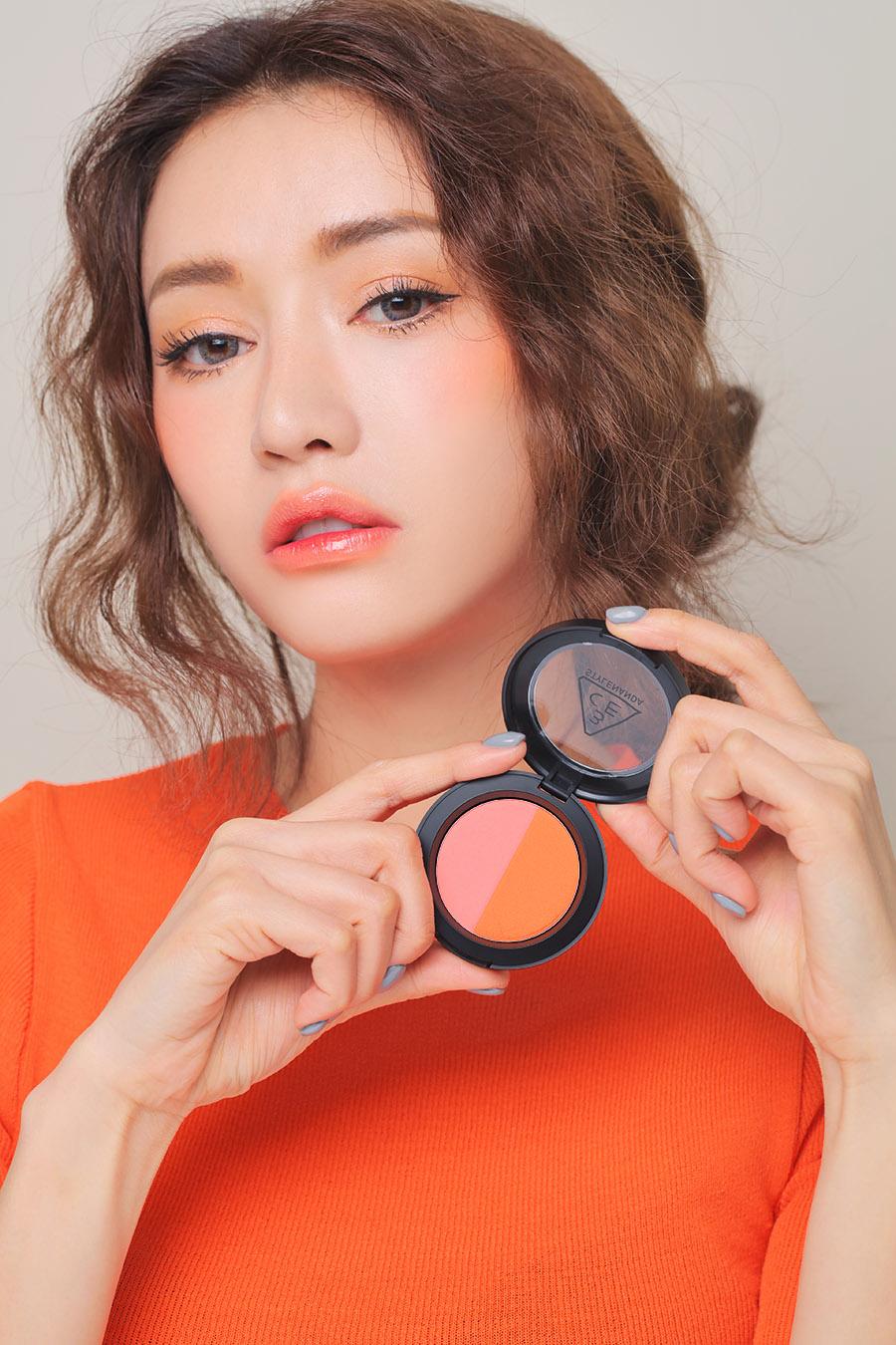 Phấn Má Hồng 3CE Duo Color Face Blush