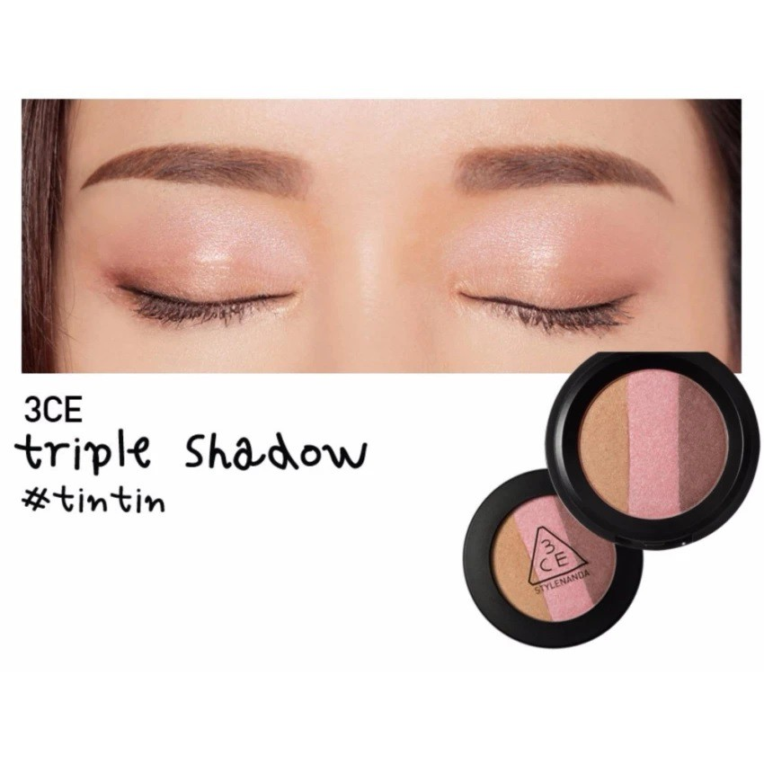 Phấn Mắt 3CE Triple Shadow- #tintin