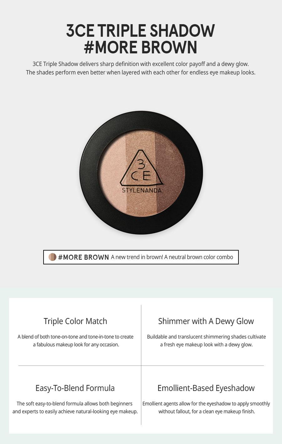 Triple Shadow- more brown