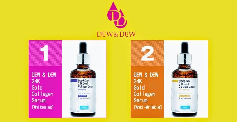 Serum Dưỡng Trắng Da Dew&Dew 24K Gold Collagen Whitening