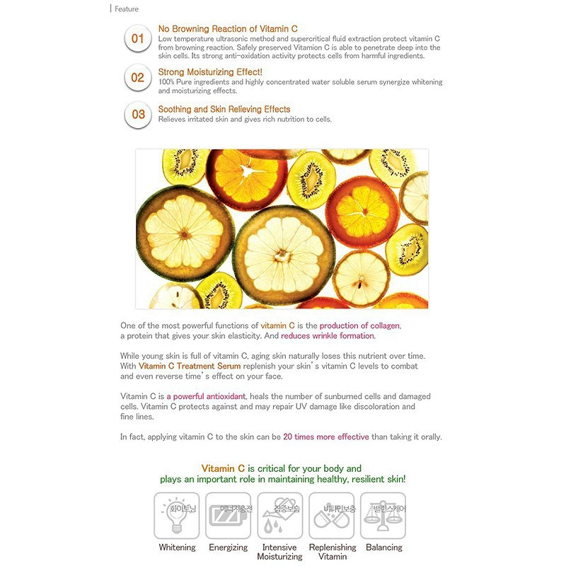 Serum Trắng Da Chống Lão Hóa Dew&Dew Vitamin C Treatment