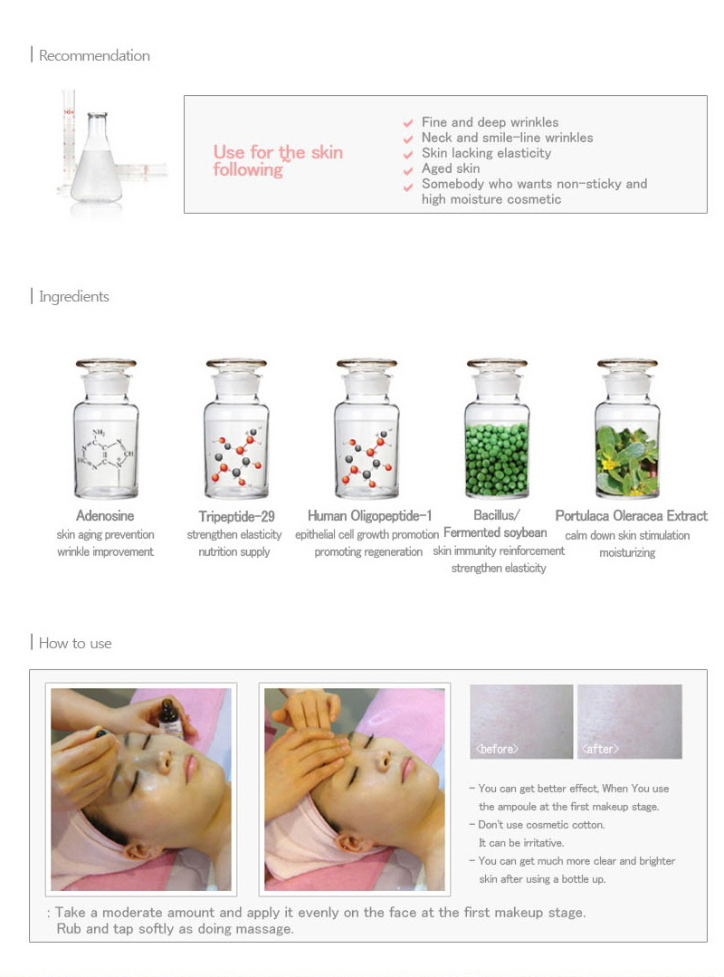 Serum Trị Nám Dew&Dew Luxury Cell Collagen Peptide Ampoule