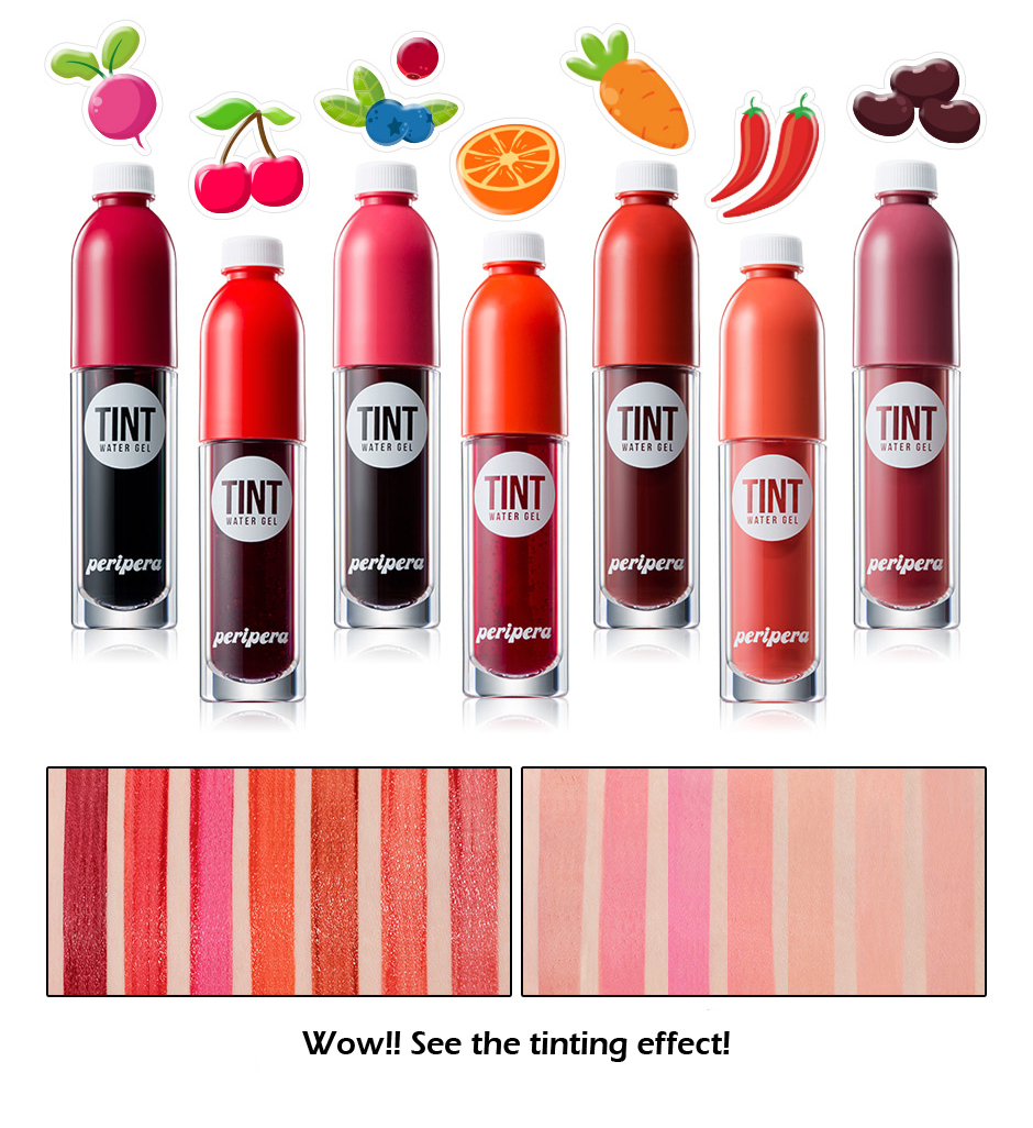 Son Nước Peripera Color Fit Tint Water Gel