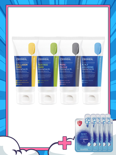 Sữa rửa mặt Mediheal Cleansing Foam 170ml (4 OPTION)
