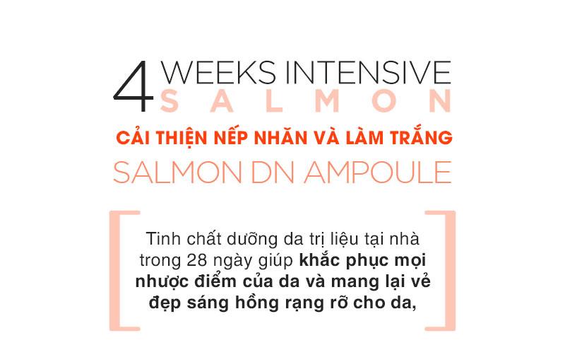 Tinh Chat Cham Soc Da Tu Trung Ca Hoi Suiskin Salmon DN Ampoule (28 ong)
