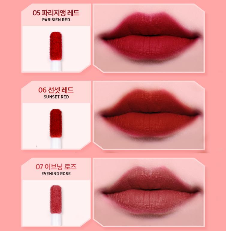 Son Kem Lì VT Velvet Lip Lacquer - 1