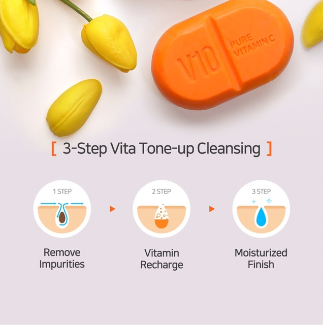 Xà Phòng Some By Mi V10 Pure Vitamin C Soap