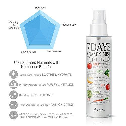 Xit Khoang Ariul Natural Facial Face Mist 7 Days Vitamin Mist