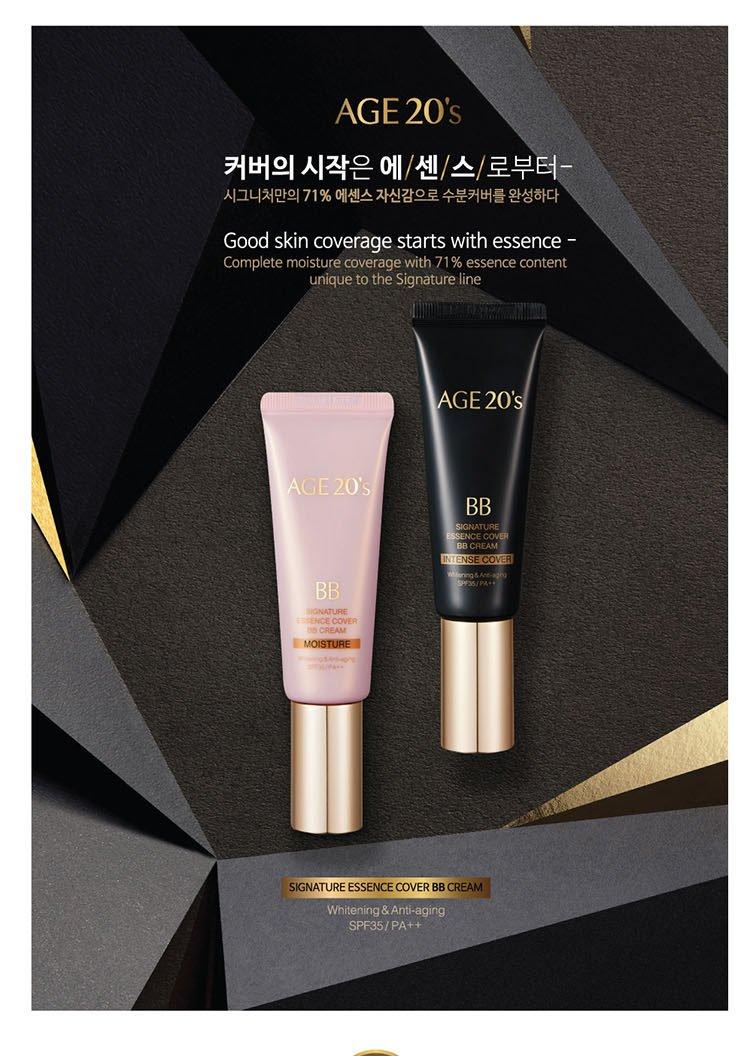 Kem Nền Age 20's – Signature Essence Cover BB Cream - 4