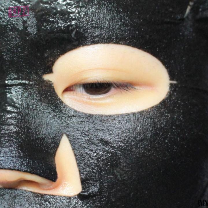 Real Water Brightening Black Mask