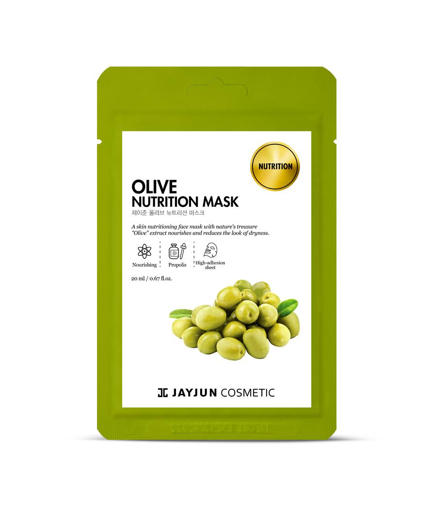 Mặt Nạ Dưỡng Da JayJun Olive Nutrition Mask