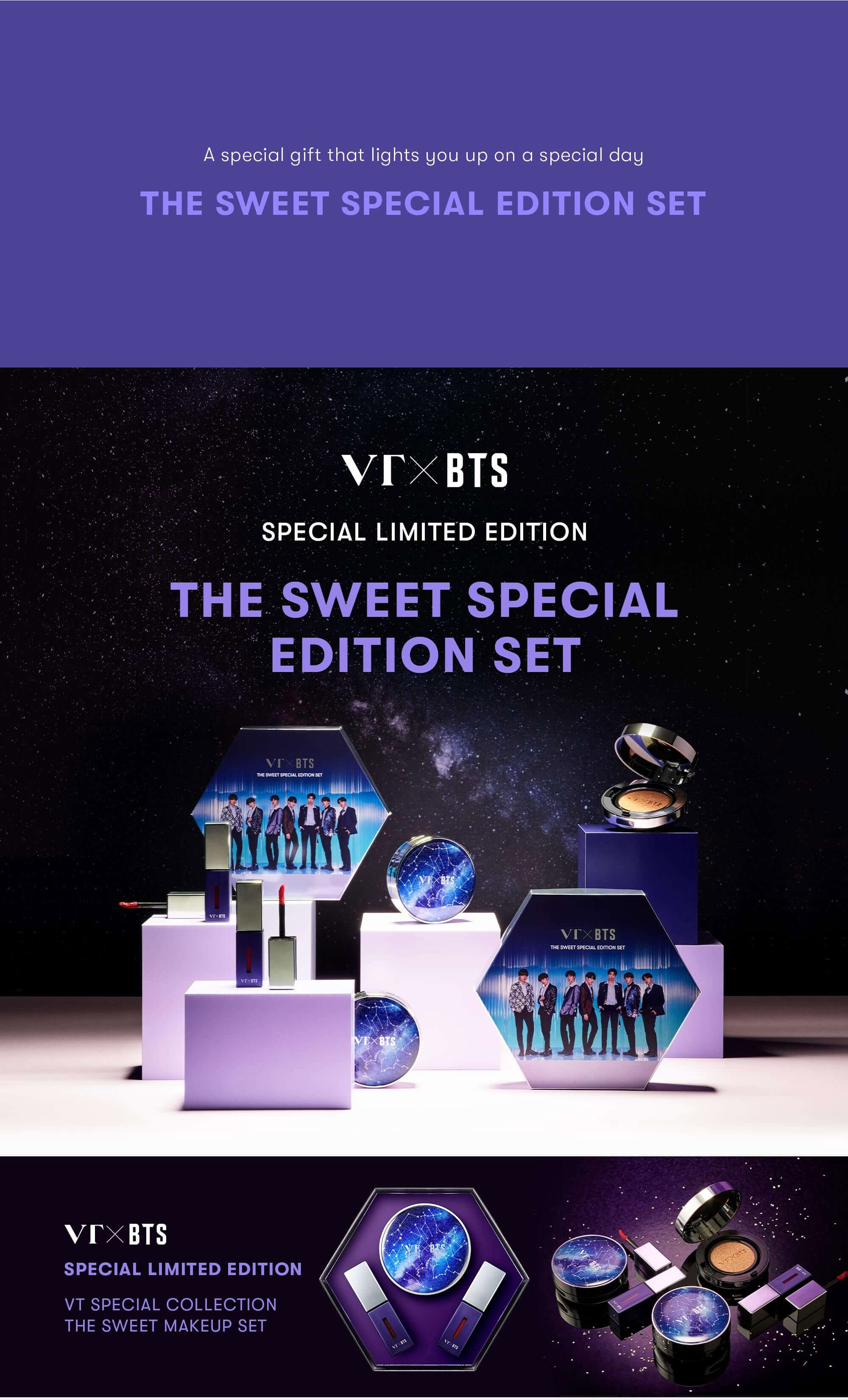 VT X BTS The Sweet Special Edition