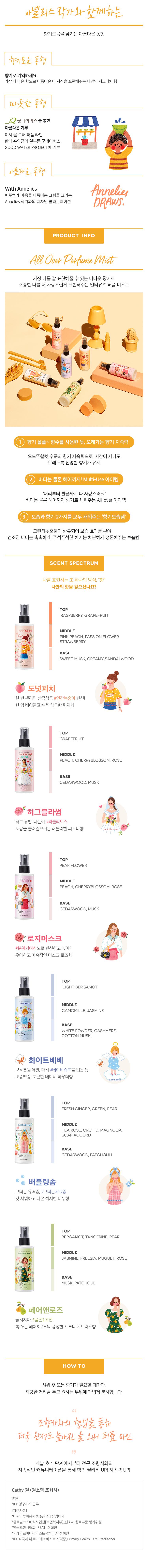 Xịt Khoáng Hương Nước Hoa MISSHA All Over Perfume Mist #Hug Blossom 120ml