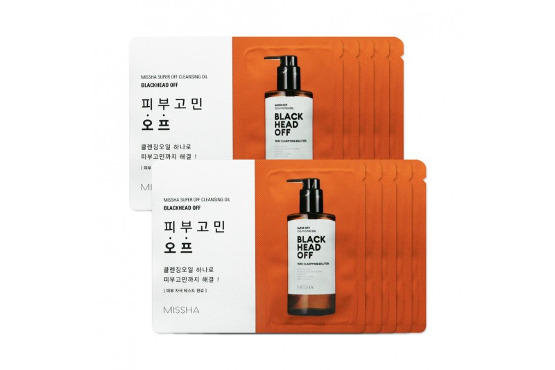 [COMBO] 5 Gói Mini Dầu Tẩy Trang MISSHA Super Off Cleansing Oil - 1