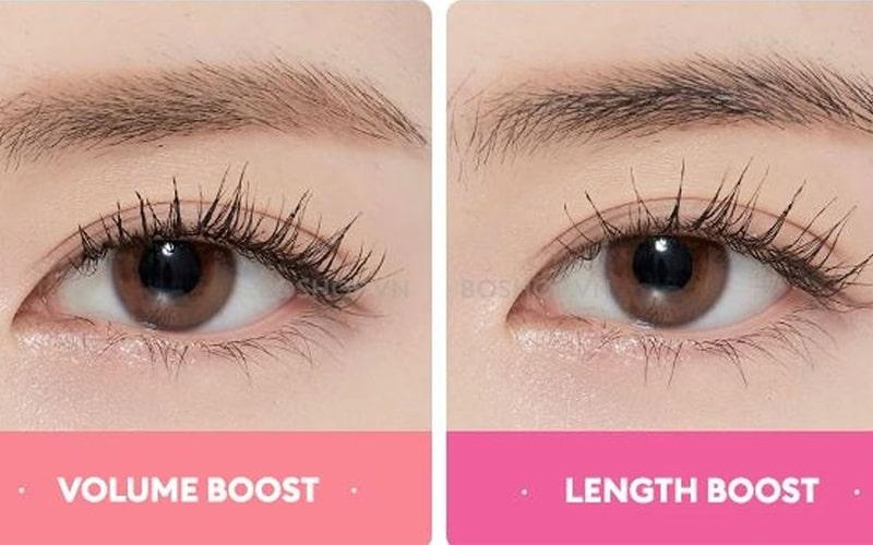 Mascara Missha x Line Friends Length Boost Cara