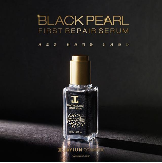 Tinh Chất Jayjun Black Pearl First Repair Serum