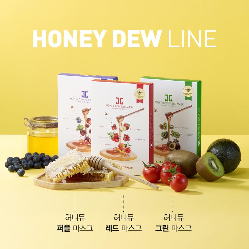 Mặt Nạ Mật Ong JAYJUN Honey Dew Green Mask 25ml