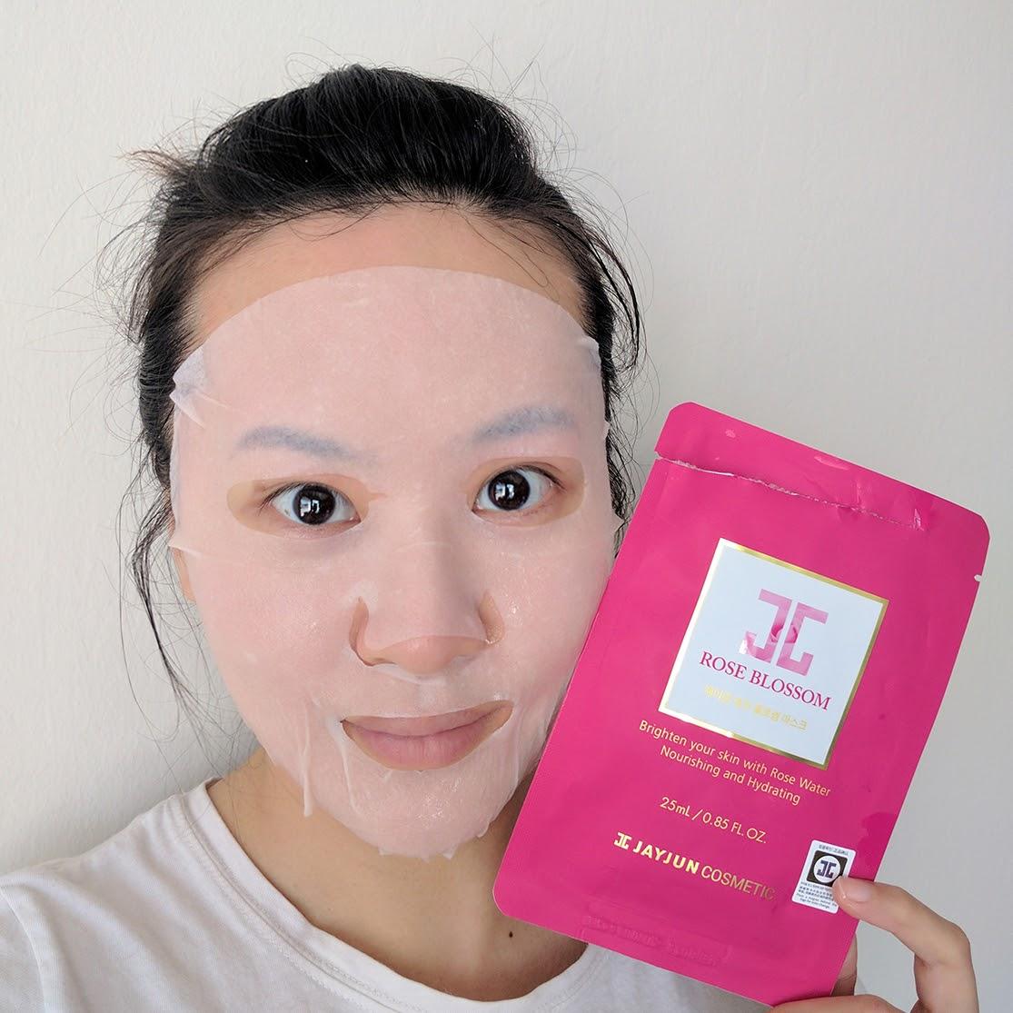 Jayjun Rose Blossom Mask 25ml