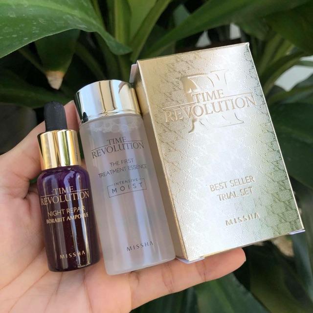 Set-duong-da-Missha-time-revolution-best-seller-trial-set
