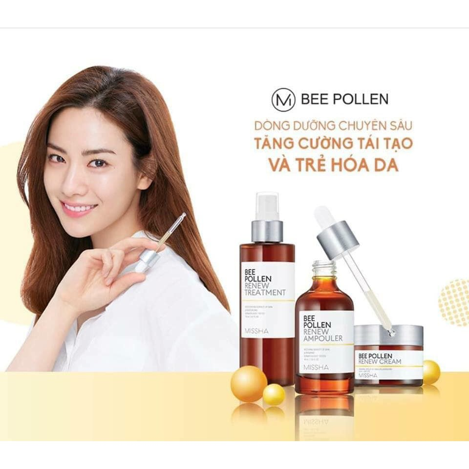 Tinh-chat-mat-ong-Missha-Bee-Pollen-Renew-Ampouler-40ml