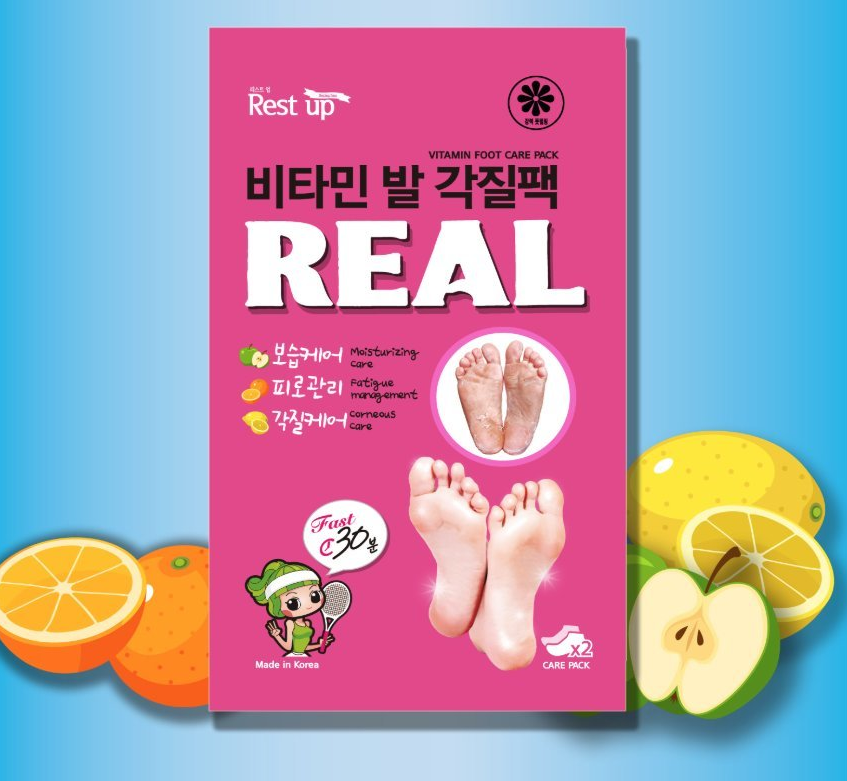 Mặt Nạ Chân Restup Real Vitamin Foot Care Pack