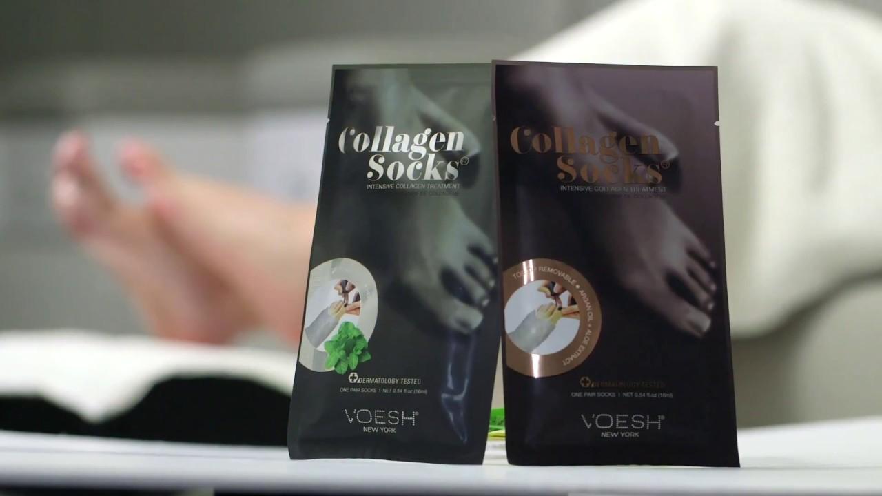 Mặt Nạ Chân VOESH Collagen Socks