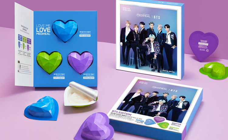 Mặt Nạ Dưỡng Da Mediheal x BTS Love Me