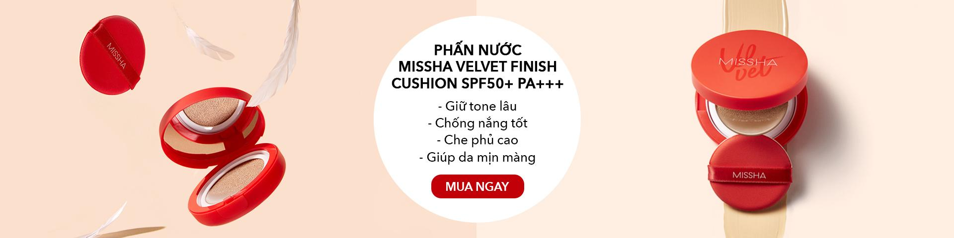 Phấn Nước MISSHA Velvet Finish Cushion